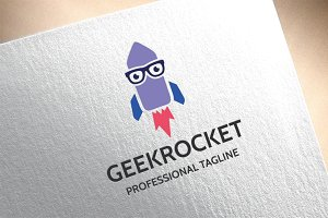 Geek Rocket Logo