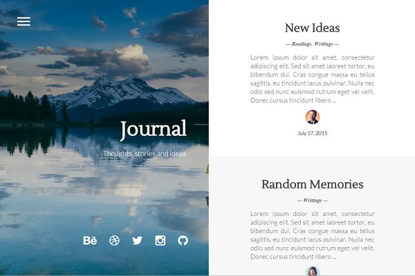 Ghost Themes: Stefan - Journal - Elegant & Minimal