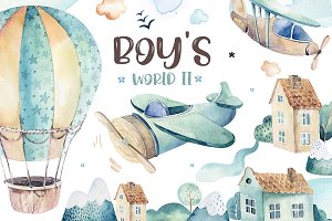 Boy's collection II. In the sky!