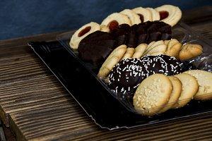 tea pastry on tray