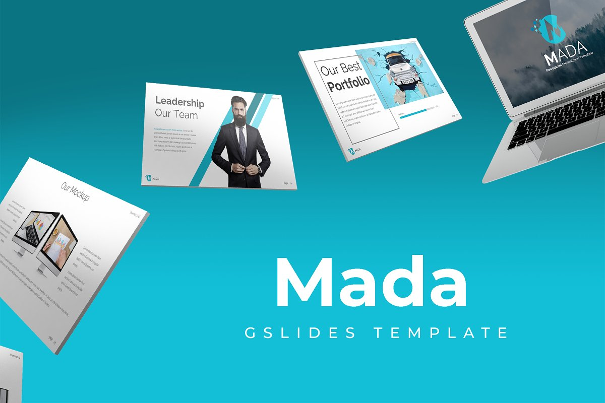 Mada - Google Slides Template
