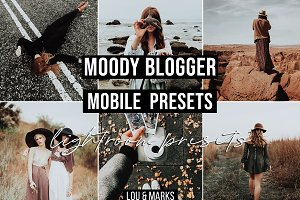 Moody Blogger Mobile Presets Bundle