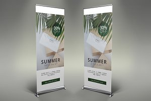 Clothes Shop Roll Up Banner