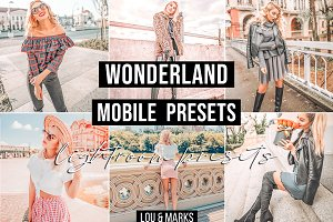 Wonderland Mobile Lightroom Presets