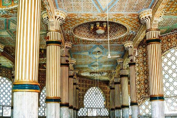 Stock Photos: Wild, Wild World - Iinterior of Touba Mosque , center o