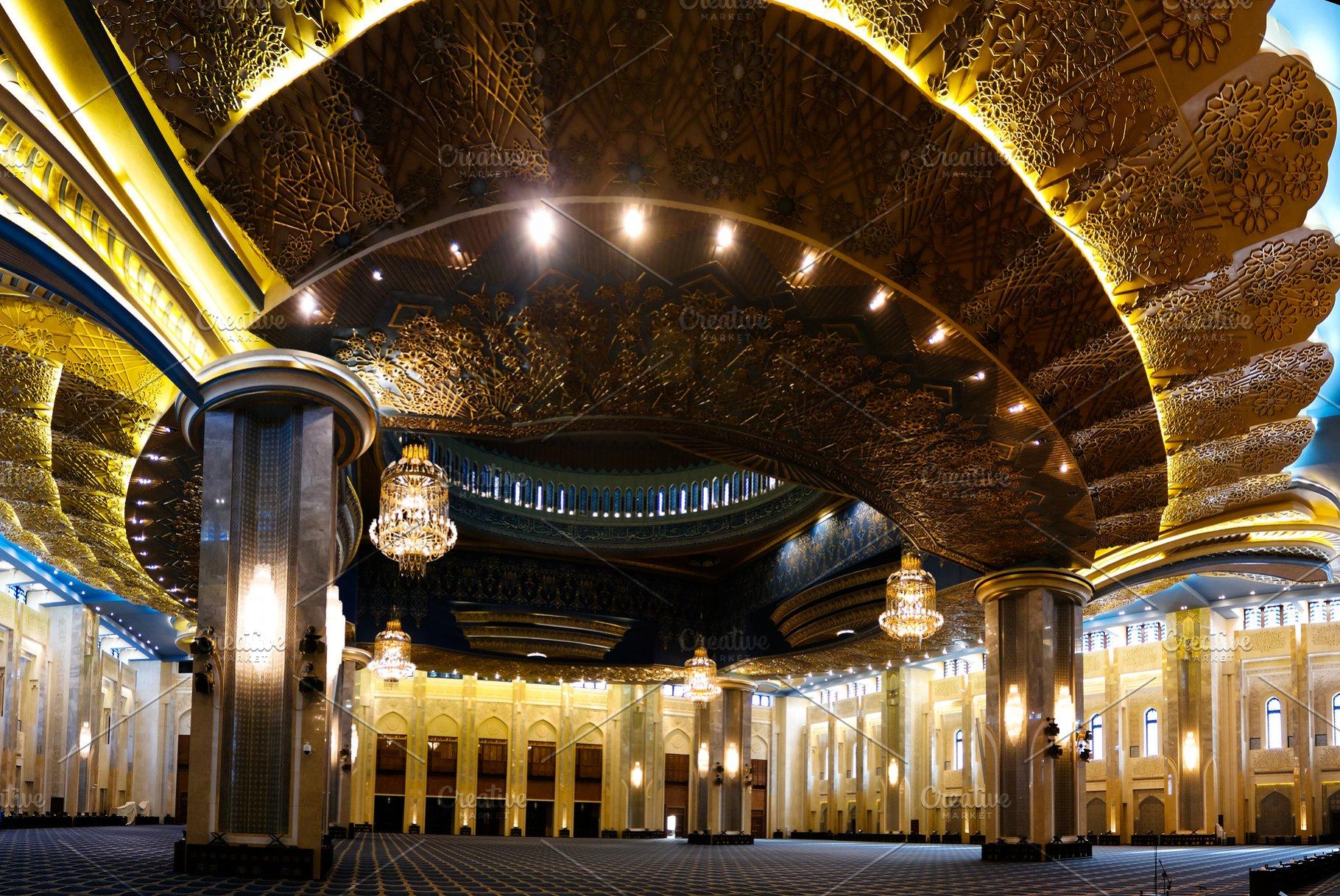 Kuwait Grand Mosque interior, Kuwait
