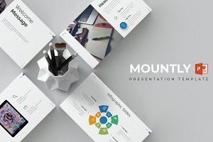 Mountly - Powerpoint Template