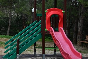 Colorful Slide Children's Playground