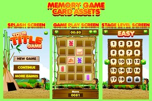 Memory Game Card Assets