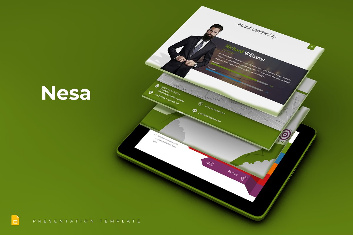 Nesa - Google Slides Template