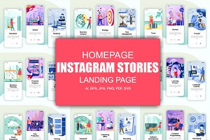 Instagram Stories Mobile App