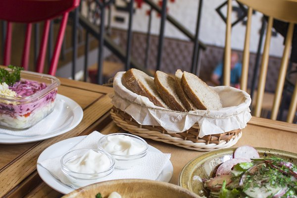 Ukrainian dish. Ukrainian national