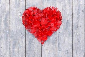 Valentine day concept for design