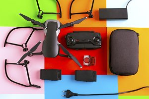 drone and its accessories