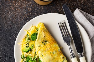 Keto low carb omelet  and bulletproo