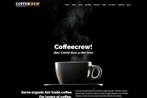 Coffeecrew - Coffee Shop WP Theme