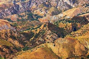 Aspromonte hills