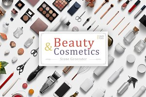 Beauty & Cosmetics Scene Generator