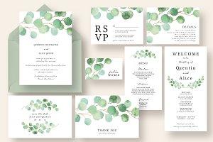 Dreamy Eucalyptus Wedding Suite