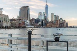 Pier on Manhattan West side