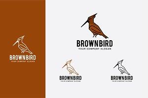 brown bird logo