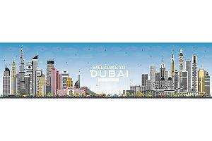 Welcome to Dubai UAE Skyline