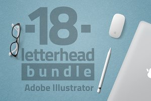 18 Letterhead Bundle