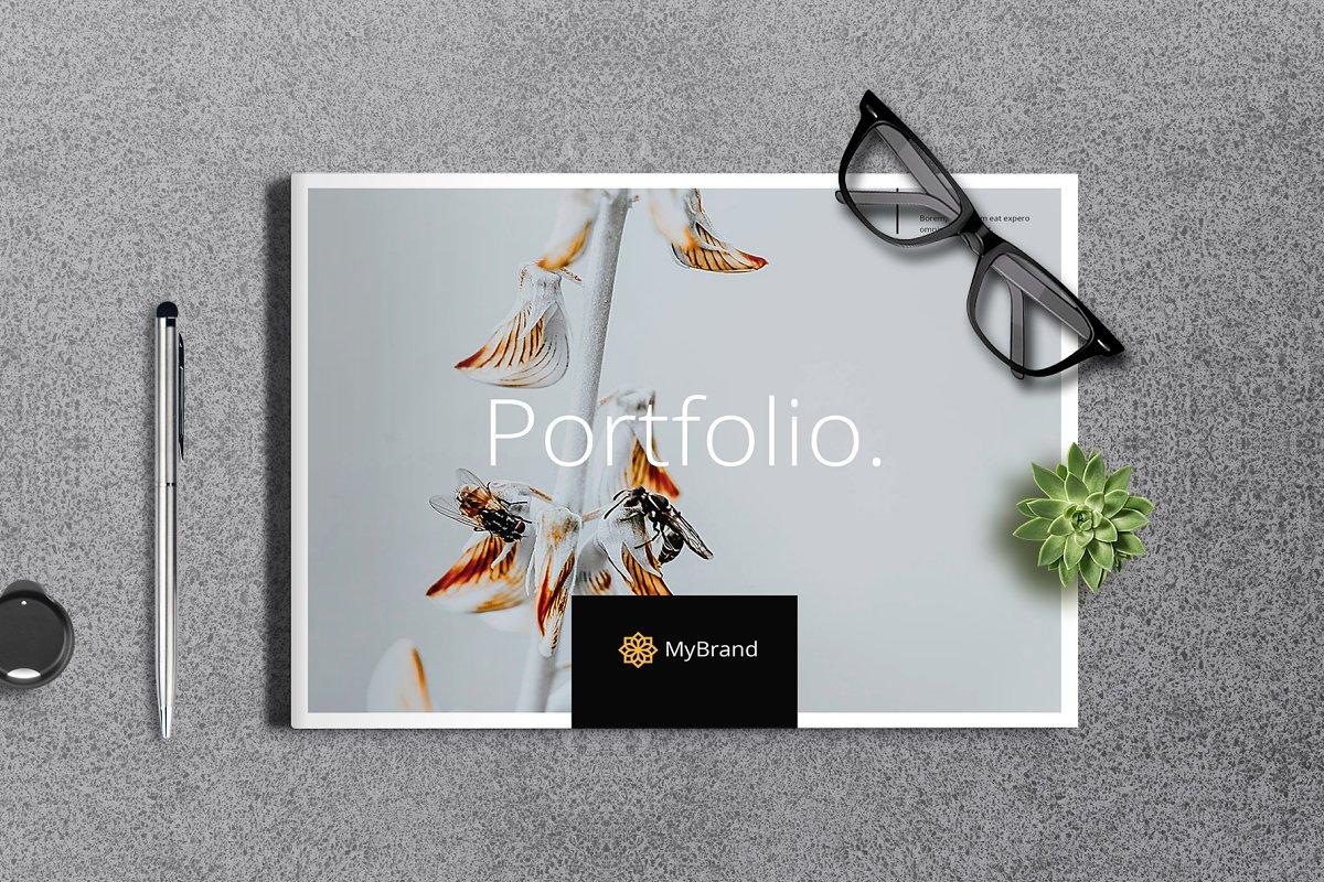 Portfolio Brochure Landscape