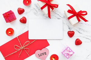 Valentine day romantic background