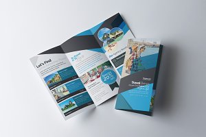 Travel & Hotel Booking Brochure