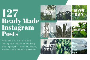 127 Ready-Made Instagram Posts
