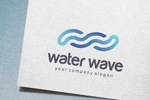 Water Wave Logo
