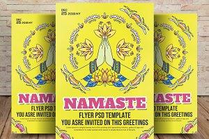 Namaste Flyer Template