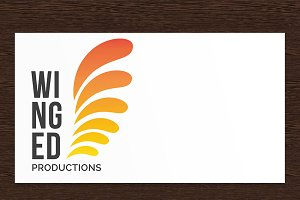 Winged Productions Logo - PSD
