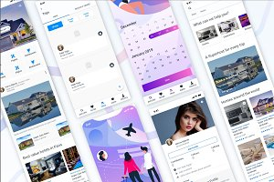 Travel And Booking UI Kit