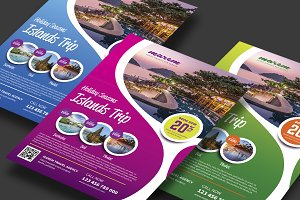 Travelling Flyer Template