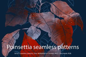SALE seamless floral patterns | JPEG