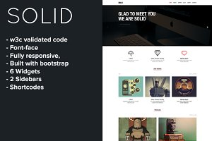 Solid - Responsive WordPress Theme