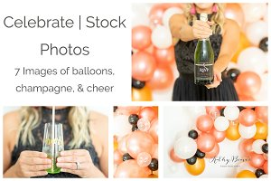 Celebrate | Balloons & Champagne