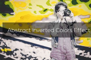 Abstract Inverted Colors Effect