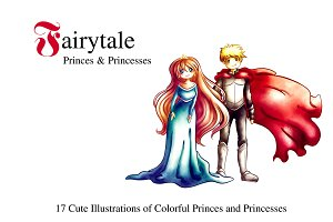 Fairytale Princes & Princesses Set