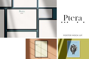 Ptera: All-in-One Poster Mockup Kit