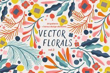Vector Florals vol.2 by  in Objects