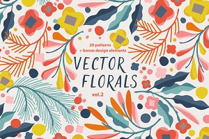 Vector Florals vol.2