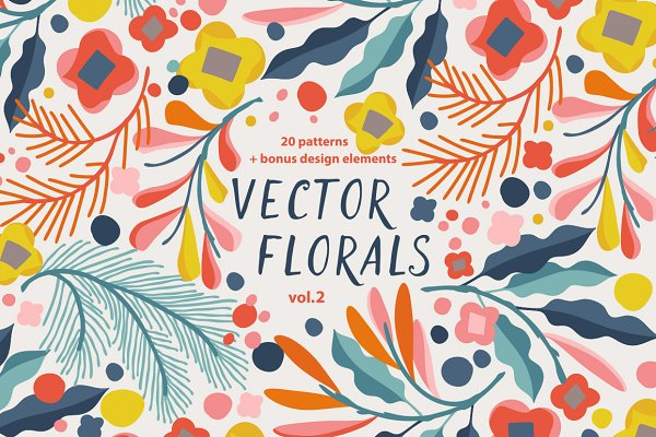 Graphic Objects: Irtsya - Vector Florals vol.2