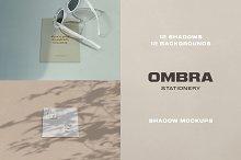 Ombra Stationery Shadow Mockups