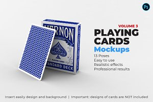 Playing Cards Mock-up V.3