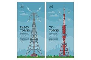 Tower vector global skyline towered