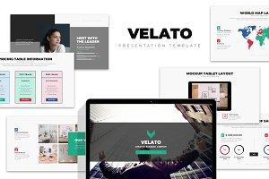Velato : Marketing Kit Powerpoint
