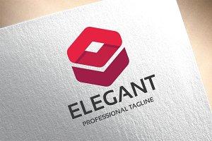Elegant E Letter Logo